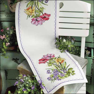 chemin de table bouquet de tulipes boutique. Black Bedroom Furniture Sets. Home Design Ideas